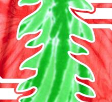 stanford tie dye Sticker