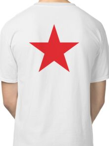 Red Star, STAR, RED, Stardom, Power to the people! Red Dwarf, Stellar, Cosmic Classic T-Shirt