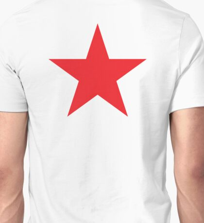 Red Star, STAR, RED, Stardom, Power to the people! Red Dwarf, Stellar, Cosmic Unisex T-Shirt