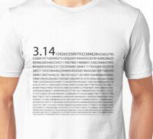 1,200 Digits of Pi Unisex T-Shirt