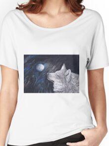 Light Side Moon Women's Relaxed Fit T-Shirt