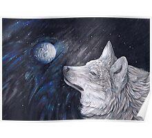 Light Side Moon Poster