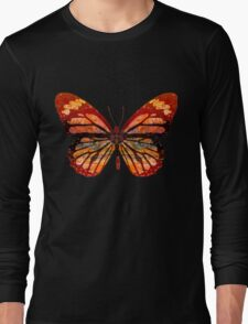 Butterfly Abstract Long Sleeve T-Shirt