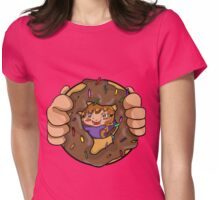 Donut Womens Fitted T-Shirt