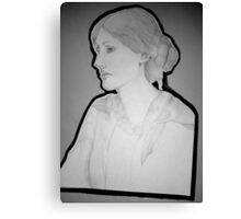 Virginia Woolf Portrait Canvas Print