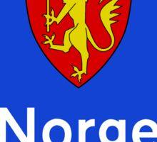 Norway Border Sign Sticker