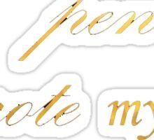 I Wrote my Own Deliverance Sticker