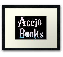 Accio Books Framed Print