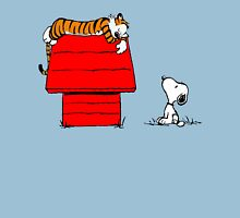 Snoopy And Hobbes Unisex T-Shirt