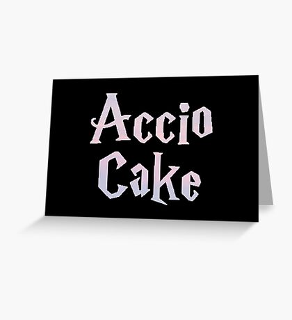 Accio Cake Greeting Card