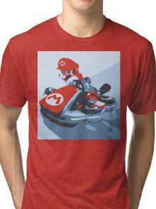 Mario Kart 8  Tri-blend T-Shirt