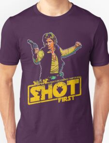 Han Shot First Style T-Shirt