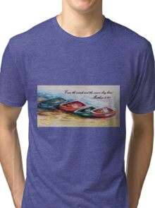 Even the Winds and Waves Tri-blend T-Shirt