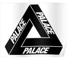 Palace Tri Ferg Logo Poster