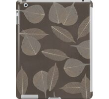 Leaves pattern iPad Case/Skin