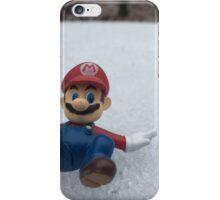 Mario Winter Wonderland  iPhone Case/Skin