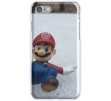 Mario Winter Wonderland  iPhone Case/Skin
