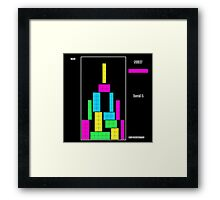 Level 1 black Framed Print