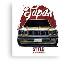 Japan car in my garage Canvas Print