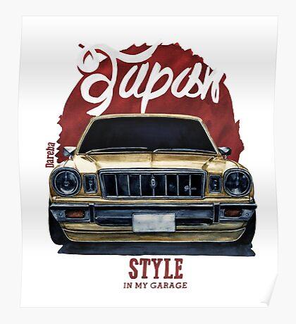 Japan car in my garage Poster