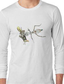Bugs Cute Weird Random Cool Insects Nature Long Sleeve T-Shirt