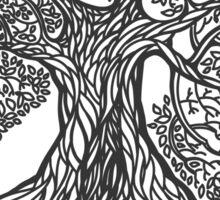 Big Oak Tree Sticker