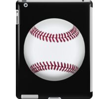 BASEBALL, BALL, SOFTBALL, Pitch, Pitcher, Sport, Game, Bat and Ball game, on BLACK iPad Case/Skin