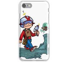 Walking on the moon... iPhone Case/Skin