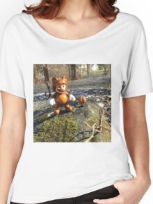 Tanooki Mario Women's Relaxed Fit T-Shirt