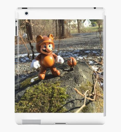 Tanooki Mario iPad Case/Skin