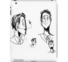sketchy cas iPad Case/Skin