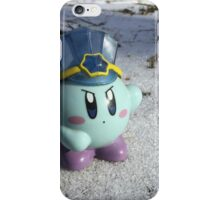 Ice Kirby Cools Off iPhone Case/Skin