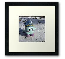 Ice Kirby Cools Off Framed Print
