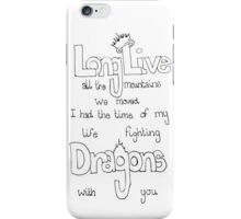 Long Live-Taylor Swift iPhone Case/Skin