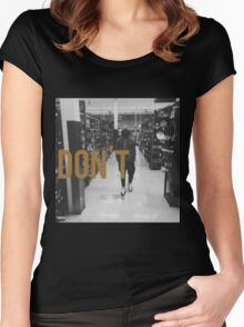 Don't Bryson Tiller HD Women's Fitted Scoop T-Shirt