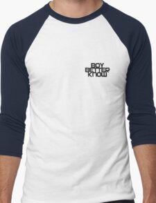 Boy Better Know Smal Logo T- shirt  Men's Baseball ¾ T-Shirt