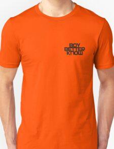 Boy Better Know Smal Logo T- shirt  Unisex T-Shirt