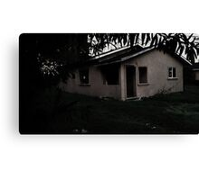 The Old Haunted House Canvas Print