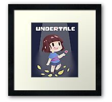 Undertale HD Frink Framed Print