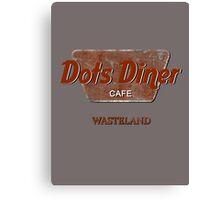 Dots Diner Cafe - Wasteland Canvas Print