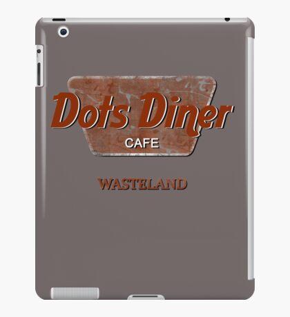 Dots Diner Cafe - Wasteland iPad Case/Skin