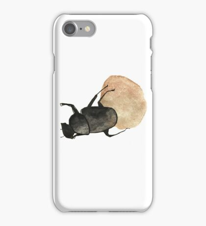 Dung Beetle Cute Funny Random Gift Cool iPhone Case/Skin