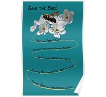 Save The Bees Poster