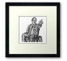 Brian Potter Framed Print