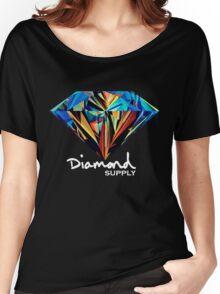 Diamond Supply T shirt  Women's Relaxed Fit T-Shirt