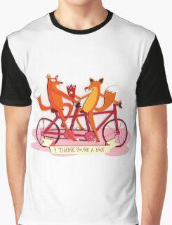 Fox tshirt/ funny tshirt Graphic T-Shirt