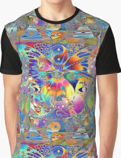Acid World Graphic T-Shirt