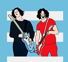 Jack White - The White Stripes by RadioDesigns