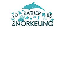 i'd rather be snorkeling #2 Photographic Print