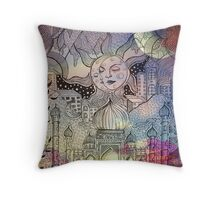 Dreamworld Throw Pillow